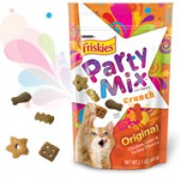 Friskies Party Mix Cat Treats - Original Crunch 2.1 OZ