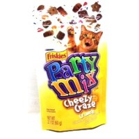 Friskies Party Mix Cat Treats - Cheezy Craze Crunch 2.1 OZ