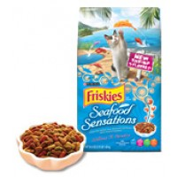 Friskies Seafood Sensations Cat Food Dry 3.15 LB