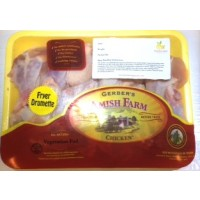 Gerber's Amish Farm Chicken Fryer Wing Drumettes - approx 1.3 Lb