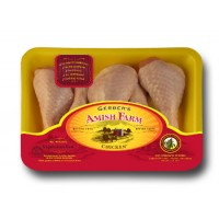 Gerber's Amish Farm Chicken Legs Fryer Drumsticks - approx 1.2 Lb