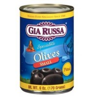 Gia Russa Small Pitted Olives 6 OZ