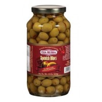 Gia Russa (Green) Spanish Olives 15 OZ