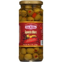 Gia Russa (Green) Spanish Olives 7 OZ