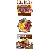 Godshall's Beef Bacon 12oz