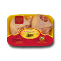 Gerber's Amish Farm Split Chicken Breast (with bone)- aprx 1.5 - 1.75 Lb