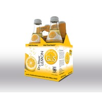 Grown Up Soda Dry Meyer Lemon - 4ct / 12oz