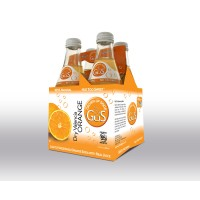 Grown Up Soda Valencia Orange - 4ct / 12oz