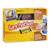 Oscar Mayer Lunchables - Ham and American  Cracker Stacker - 3.1 OZ