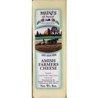 Heini's All Natural Amish Farmer's Cheese - Brick 8 OZ