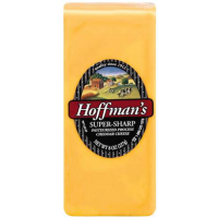 Hoffman's Super Sharp Cheddar - Deli Sliced 8oz
