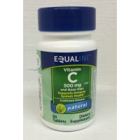 Equaline Vitamin C 500mg w/Rose Hips - 100 CT