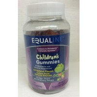 Equaline Children's Gummies Vitamins - Orange/Cherry/Raspberry 150 CT