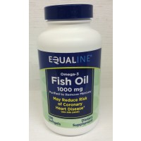 Equaline Fish Oil 1000mg - 100 CT