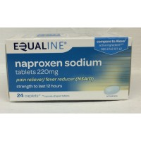 Equaline Naproxen Sodium 220mg 24 CT