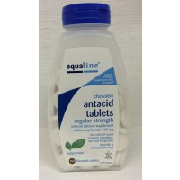 Equaline Chewable Antacid Tablets - Peppermint 150 CT