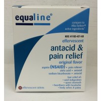 Equaline Effervescent Antacid & Pain Relief 36 CT