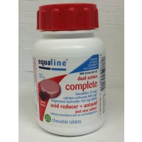 Equaline Dual Action Complete Chewable Acid Reducer & Antacid - Berry 25 CT