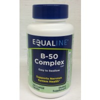 Equaline Vitamin B-50 Complex Tablets - 100 CT