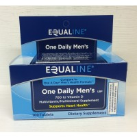 Equaline One Daily Men's Vitamin - 100 CT
