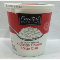 Essential Everyday Cottage Cheese Large Curd 4% - 24.0 OZ