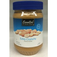 Essential Everyday Extra Crunchy Peanut Butter 28 OZ