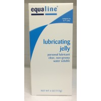 Equaline Lubricating Jelly / Personal Lubricant 4 OZ