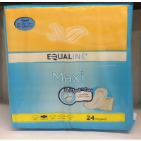 Equaline Maxi Pads - Regular 24 CT