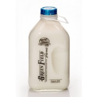 Fresh Milk - Green Field Farms - Organic 2% - .5 GL