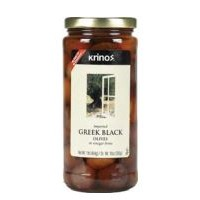 Krinos Greek Black Olives - 16.0 OZ
