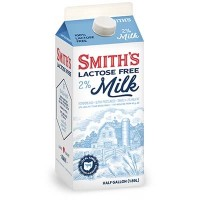 Fresh Milk Smith's 2% Lactose Free  - 0.5 GL