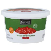 Essential Everyday Sliced Strawberries in Sugar 15oz