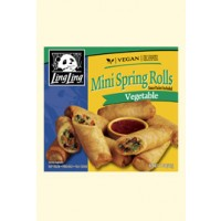 Ling Ling Mini Spring Rolls - Vegetable - 11 OZ