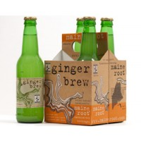 Maine Root Ginger Brew 4ct / 12oz