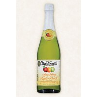 Martinelli's 100% Sparkling Apple-Peach Juice 25.4 OZ
