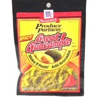 McCormick Spicy Great Guacamole Mix 1 OZ
