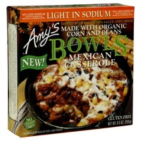 Amy's Light In Sodium Mexican Casserole Bowls - 9.5 OZ