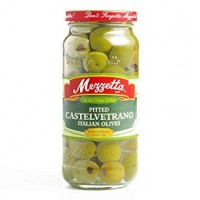 Mezzetta (Green) Pitted Castelvetrano Italian Olives - 8.0 OZ