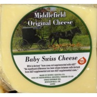 Middlefield Original Cheese - Baby Swiss - Brick 8 OZ