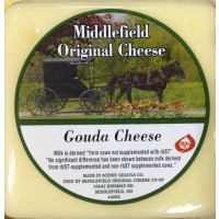 Middlefield Original Cheese - Gouda Cheese - Brick 8 OZ