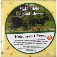 Middlefield Original Cheese - Habanero Cheese - Brick 8 OZ