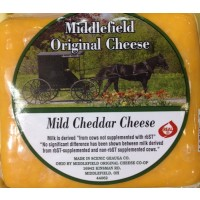 Middlefield Original Cheese - Mild Cheddar Cheese (Yellow) - Brick 8 OZ
