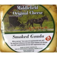 Middlefield Original Cheese - Smoked Gouda - Brick 8 OZ