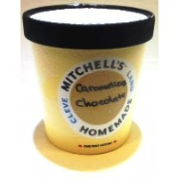 Mitchell's Homemade Caramelized Chocolate Ice Cream 1 Pt