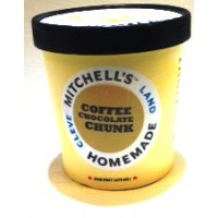 Mitchell's Homemade Coffee Chocolate Chunk Ice Cream 1 Pt