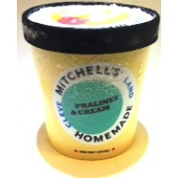 Mitchell's Homemade Pralines & Cream Ice Cream 1 Pt