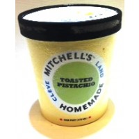 Mitchell's Homemade Toasted Pistachio Ice Cream 1 Pt