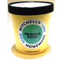 Mitchell's Homemade Vanilla Bean Ice Cream 1 Pt