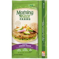 MorningStar Farms Garden Veggie Patties - 4 CT / 9.5 OZ