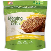 MorningStar Farms Maple Flavored Sausage Patties - 6 CT / 8.0 OZ